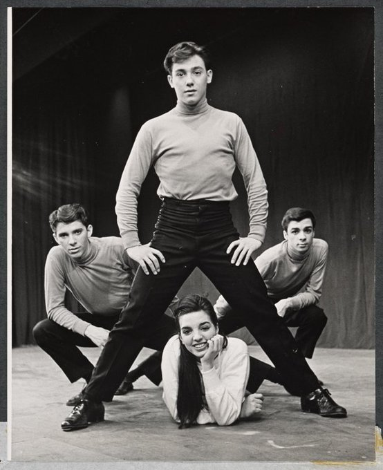 Happy belated birthday to Liza Minnelli, here w/ cast members of BEST FOOT FORWARD, 1963. Via