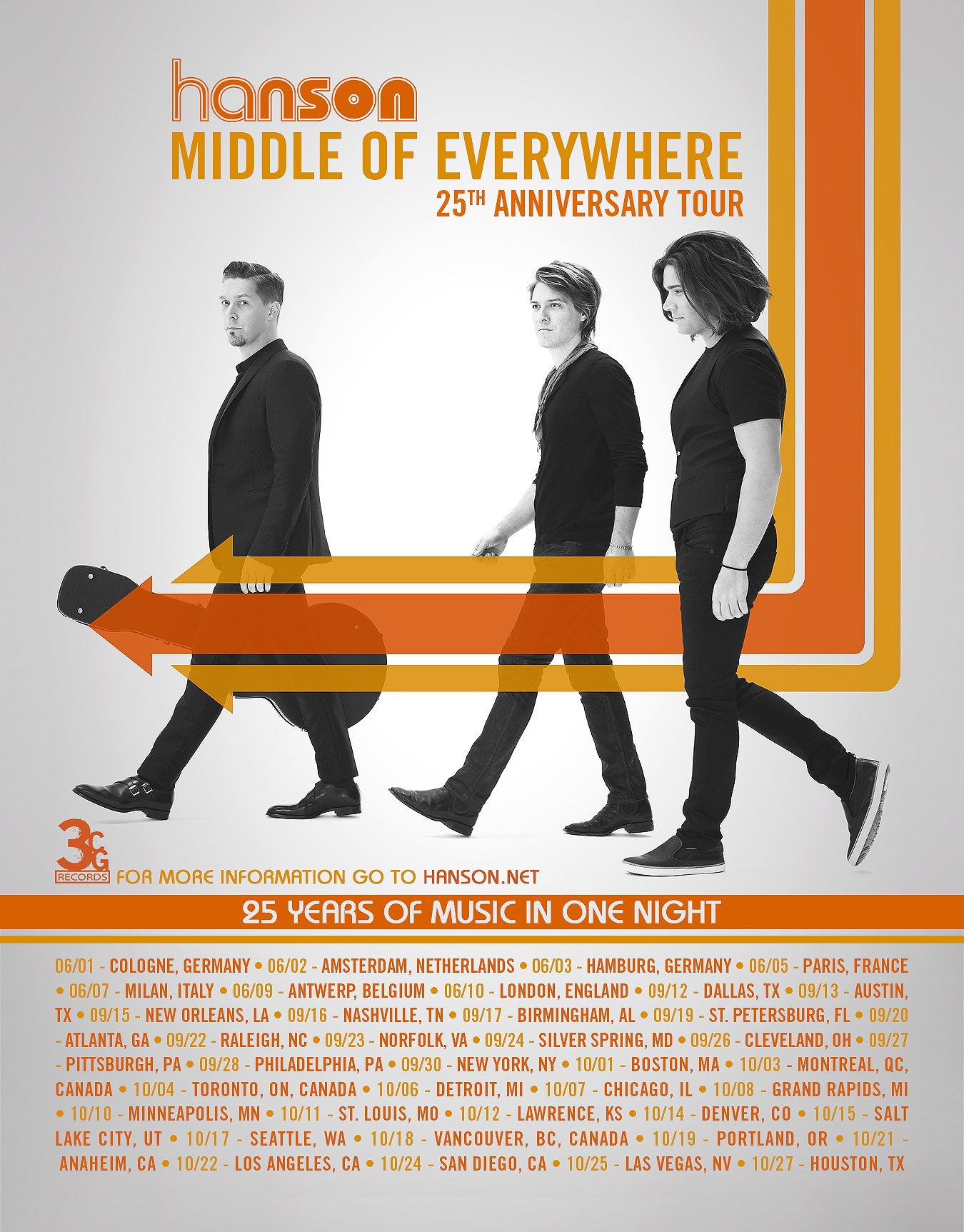 We just announced the first leg of our Middle of Everywhere Tour! https://t.co/jns2WgS7ut https://t.co/d6qMhXOHGd