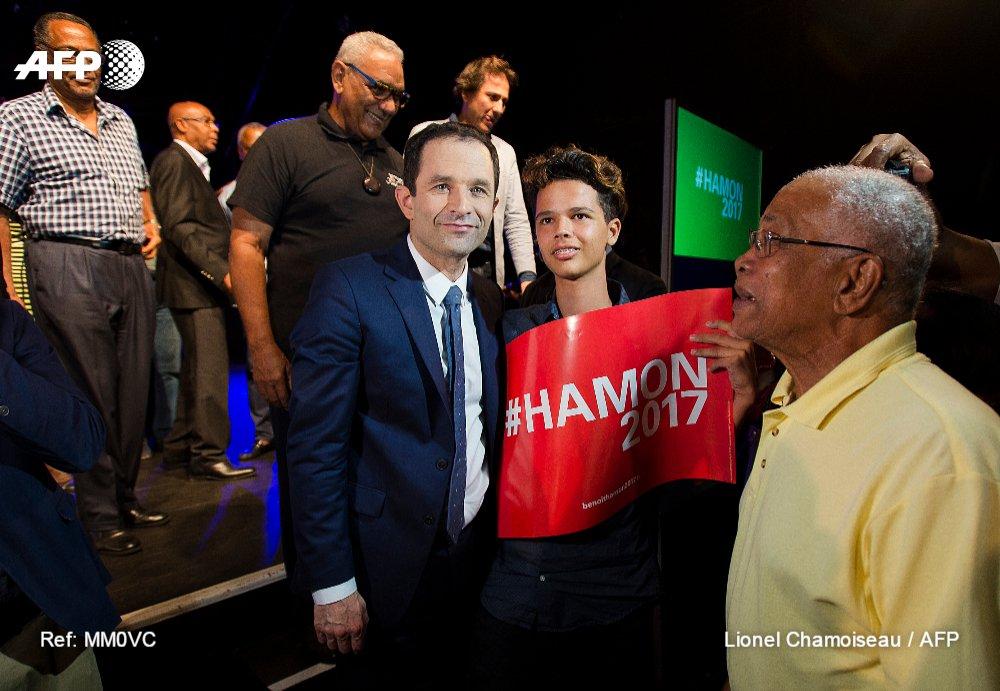 Aux Antilles, Hamon engrange les soutiens mais pas de notoriété