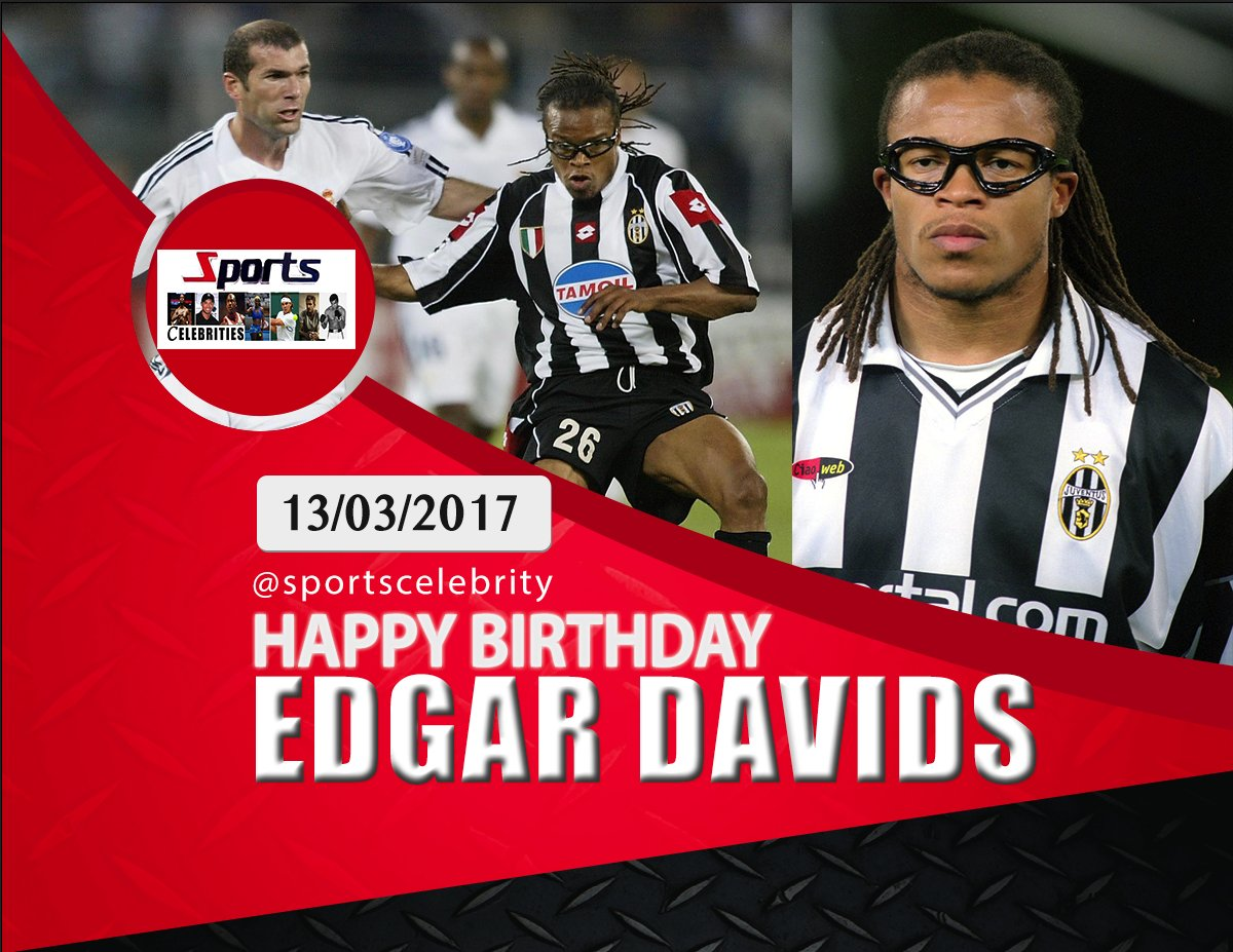 Happy Birthday, Edgar Davids - a winner in 1995