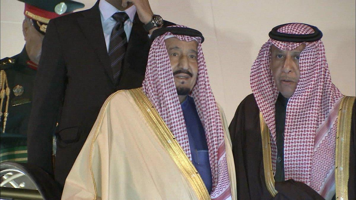 こんばんは。今夜は櫻井翔キャスターの出演日です。 1000人を超える大訪問団を引き連れサウジアラビアの国王が 46年ぶりに来日しています。想像を超える豪華さで知られるサウジ国王の外遊とは?日本を選んだワケは? イチメン!で詳しくお伝えします。