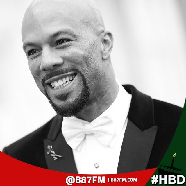 Happy Birthday To That Soul Brotha Common who celebrates his 44th BDay today.