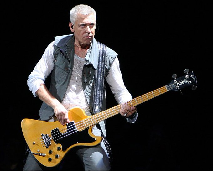 Happy Birthday Adam Clayton ! kicks off lunch today at noon. Listen