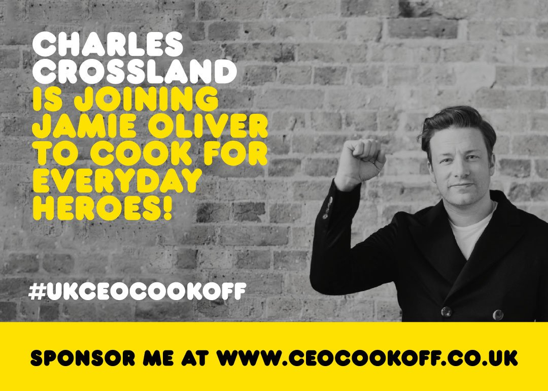 Thanks Charles Crossland @Goodman_Group for joining me in the #ukceocookoff not long now hope you are ready for it!! https://t.co/6e2cFzfxyd