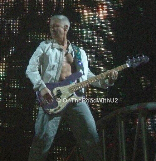 Happy 57th Birthday to Adam Clayton!