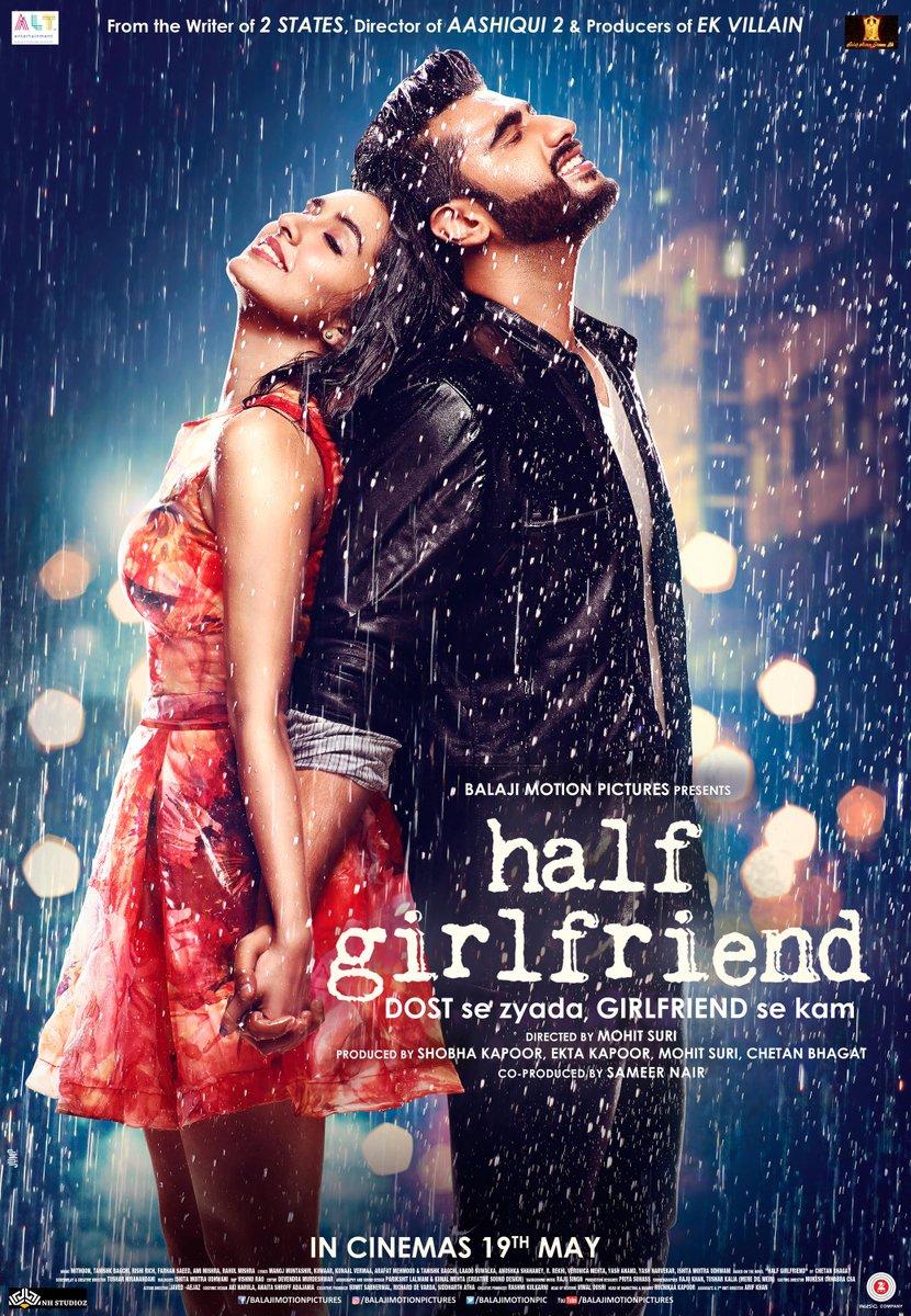 Hi guys, here it is. The first poster of Half Girlfriend.  #HalfGirlfriend #हाफ