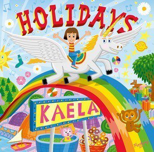 木村カエラ、新シングル『HOLIDAYS』のジャケ写公開。PJベリーも登場(RO69(アールオーロック))