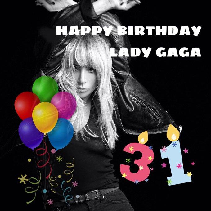 HAPPY BIRTHDAY LADY GAGA