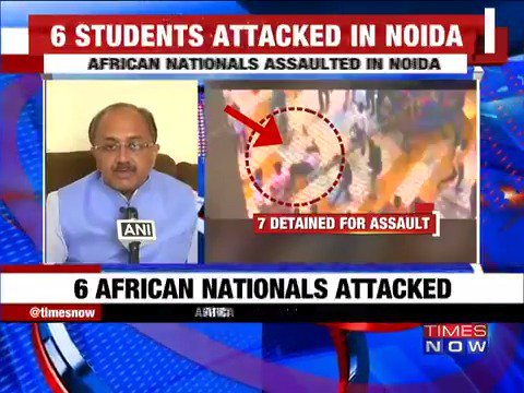 Attack on Nigerian students a serious issue says Siddharth Nath Singh, UP Minister
