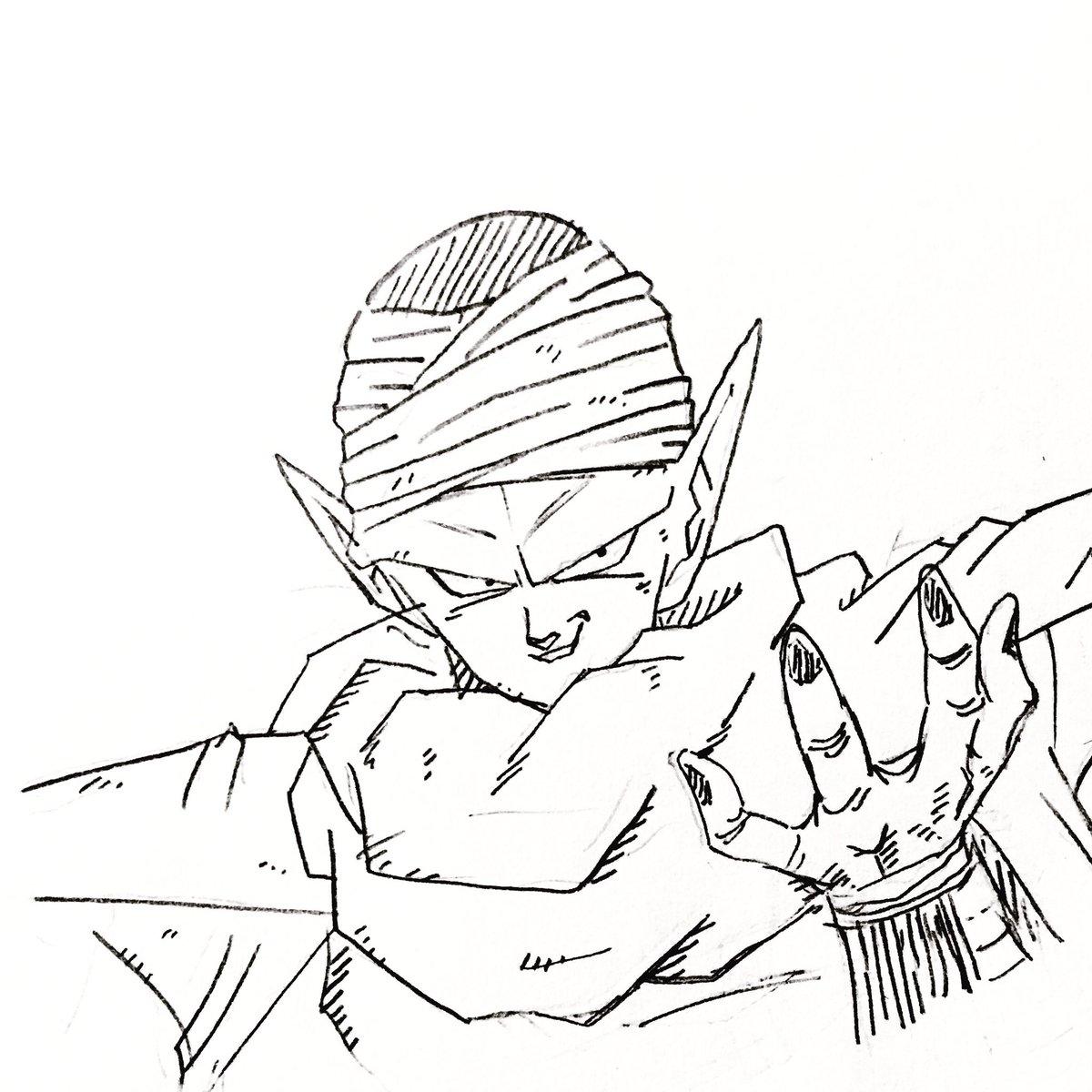 #ドラゴンボール#絵描きさんと繋がりたいピッコロさん。