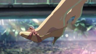 私の気分はまさにこんな感じ。ダイアナで靴👠を買うたびに思い出す。言の葉の庭。