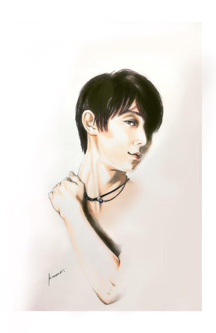 この美しさにひれ伏す時がやってくる。必勝祈願。#羽生結弦  #yuzuruhanyu(後日この美を讃えるVer.違いを鍵