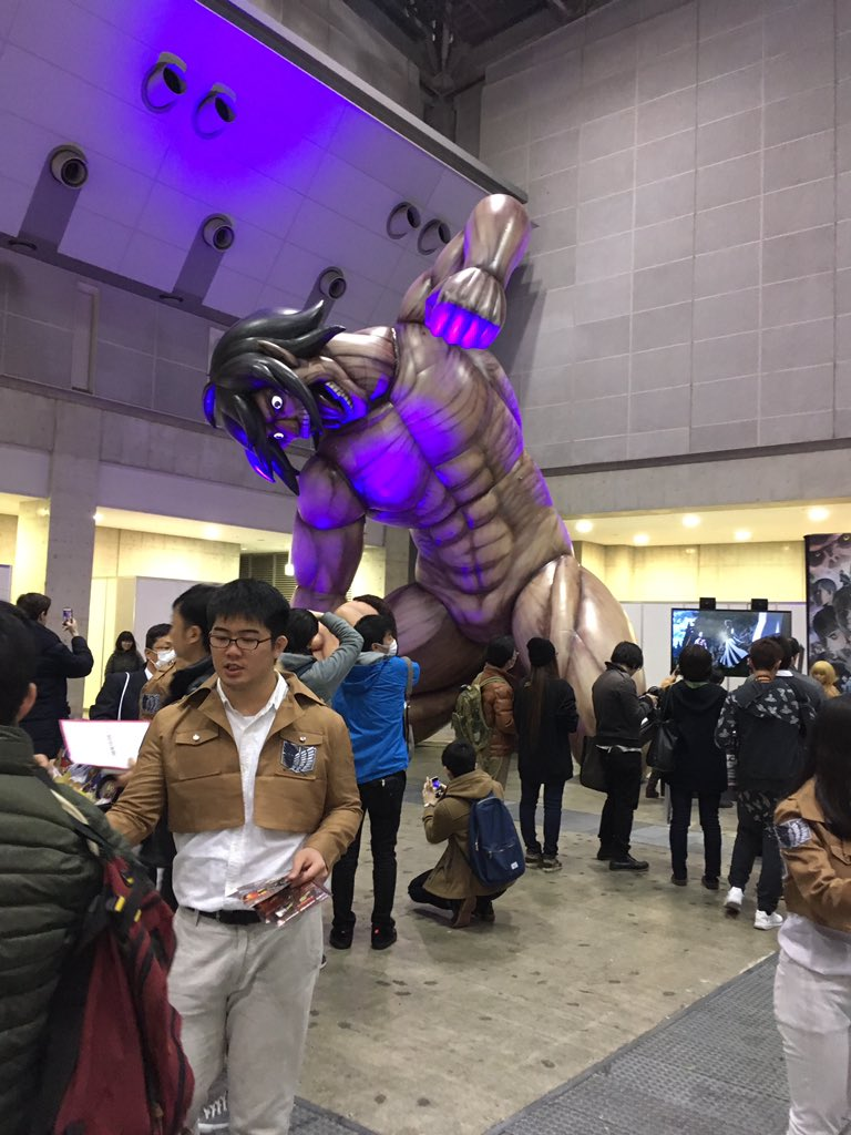 進撃の巨人#AnimeJapan2017