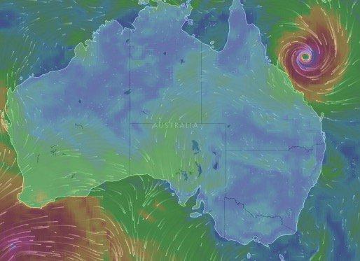 AUSTRALIE - Évacuation en cours dans le nord-est du pays en prévision de l'arrivée du cyclone Debbie.
