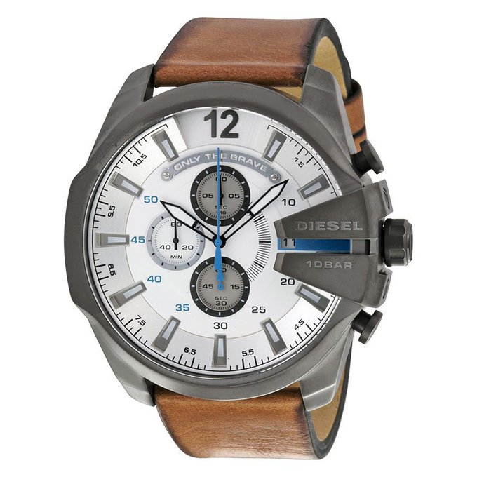 #free #fashion #watches #win #giveaway #np Diesel Mega Chief Chronograph Gunmetal IP Stainless Steel Mens Watch DZ4280 #rt