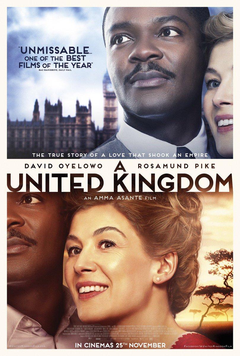 """""""A United Kingdom"""" filme la lutte politique oubliée du roi du Botswana"""