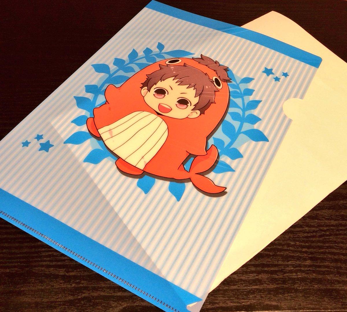 【商品情報】「クリアファイル」各350円+税全5種真昼たちがギルデンスターンの着ぐるみ姿になったかわいいイラストを使用し