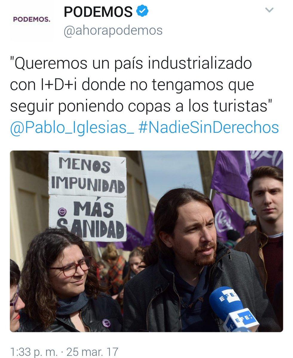 RT @JuannPrieto: No sé por qué decís que Pablo es un clasista que odia a los camareros. https://t.co/wJZGuRsF6q