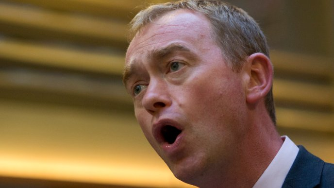 At #4: Tim Farron: Moderate Tories must defect to Lib Dems or accept losing to us https://t.co/E5VrdCOTff https://t.co/LyWZfgzVPh