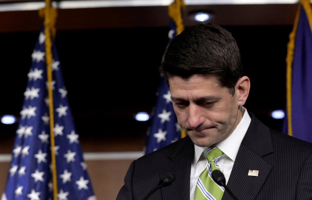 Obamacare : Paul Ryan fait échouer Trump au Congrès https://t.co/GEKeAtxnU1