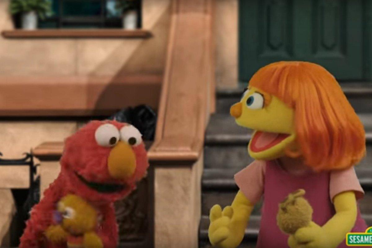 Meet Julia, Sesame Street's first autistic muppet https://t.co/MMjYe2e6lW