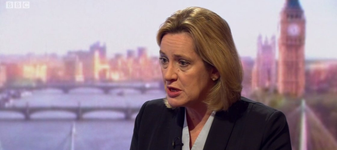 Amber Rudd: Unacceptable for terroritsts to hide on WhatsApp - https://t.co/FOnnsi9d6b https://t.co/0zw3i4qqtx