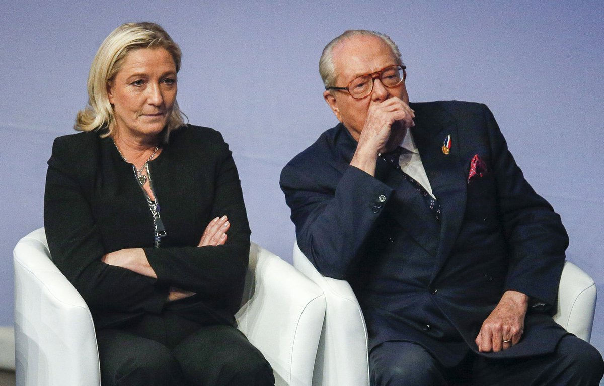 Marine Le Pen sur son père Jean-Marie : 'Il ne peut plus y avoir de relations père-fille' https://t.co/1nYweEFC11