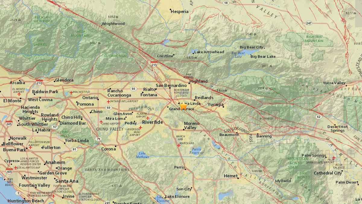 #EARTHQUAKE A preliminary-magnitude 2.8 quake has struck near Loma Linda, the @USGS said. Did you feel it?