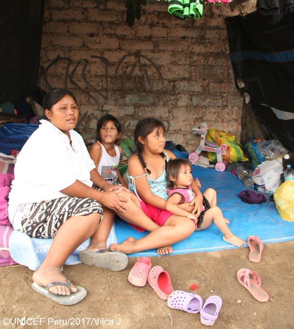 The devastating floods and landslides in #Peru have caused severe damage – over 27K houses have been destroyed @UNICEFperu