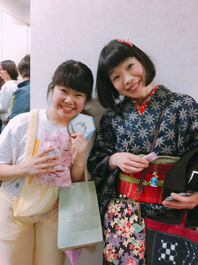 ドラえもんの声優をされている水田わさびさんも観に来られていました😢💐💕ほっっっんとーーーにステキすぎる方で顔合わせでお会
