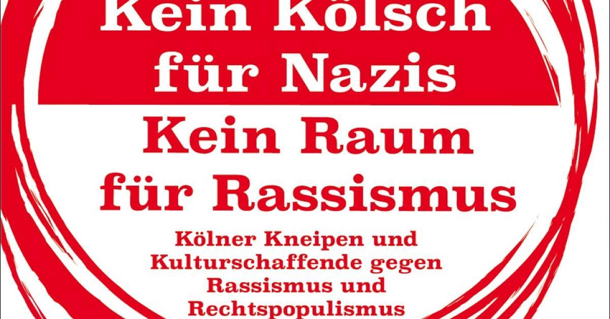'Kein Kölsch für Nazis': Wirte wollen mit eigener Kampagne Zeichen gegen #AfD setzen (Video) >>> https://t.co/OH1zHYGiCE