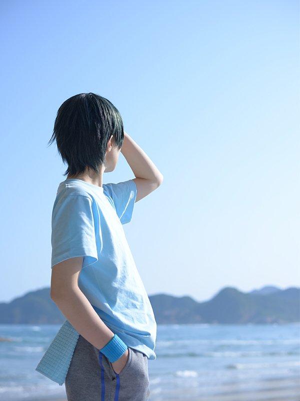 【黒バス/伊月俊コスプレ写真】Photo by 松本由