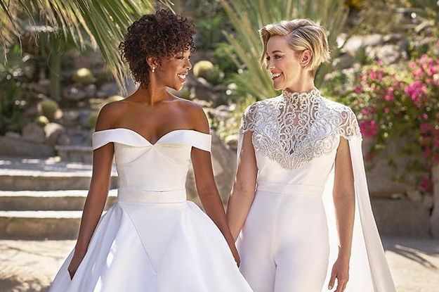This photo of Samira Wiley & Lauren Morelli on their wedding day might be the most beautiful thing you'll ever see  https://t.co/aQnHquabmM