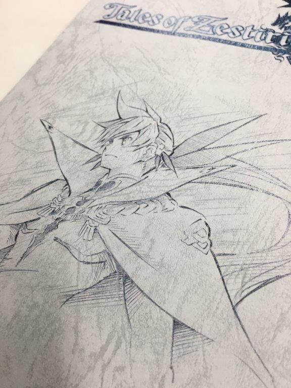 テイルズオブゼスティリアザクロス#24 導き出した答え今週のアフレコ台本の表紙もこの神依。監督の外崎が描いてくれました。