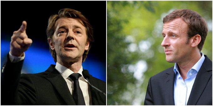 Emmanuel Macron comparé  à 'un saut sans parachute' par @francoisbaroin via @RTLFrance