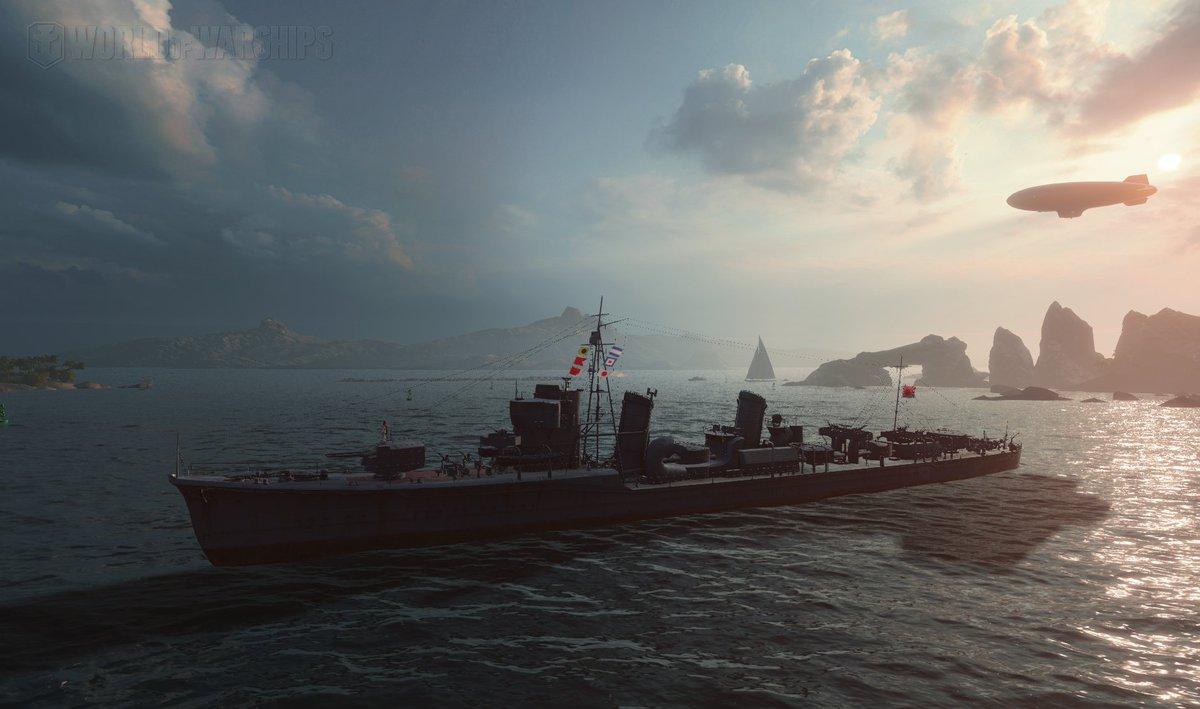 wows ティア6 日駆・吹雪抜錨!陽炎までもうすぐじゃー。日本艦艇は対空弱すぎてきつい#はいふり #wows