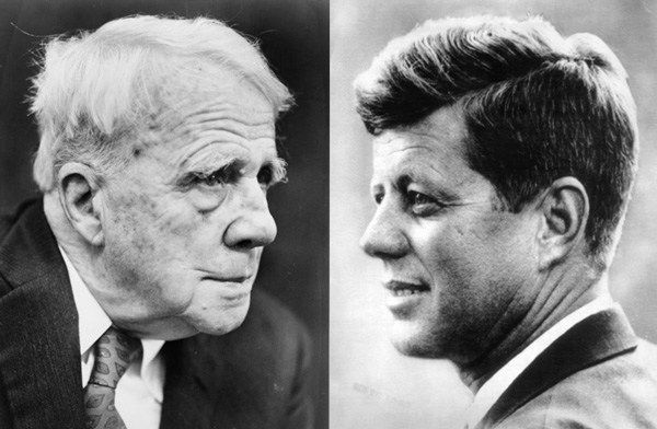 Robert Frost was born on this day in 1874. JFK eulogized him in a superb speech about the power of art https://t.co/pzaoaKjYoe