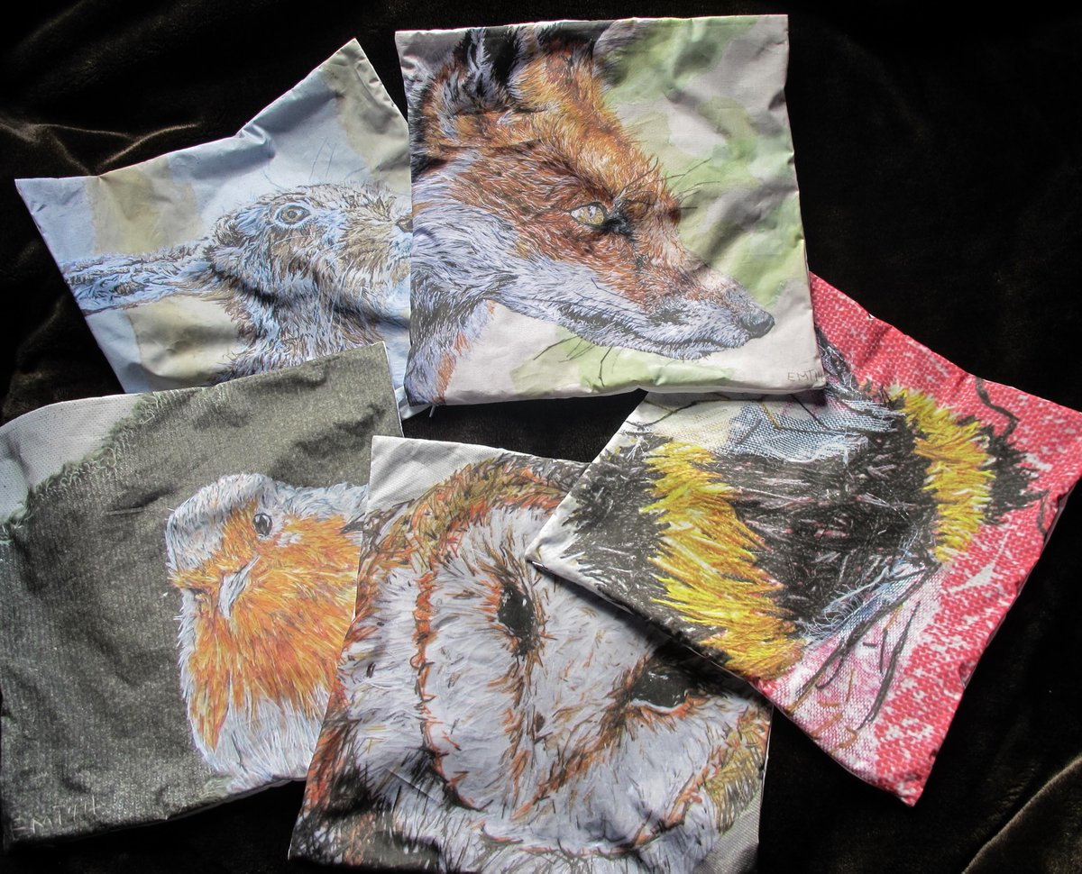 RT @houdiniem: wildlife art cushion covers for sale: https://t.co/UI3BqpzNbc #handmadehour #eastergifts #giftideas https://t.co/18ZvGfYcr9