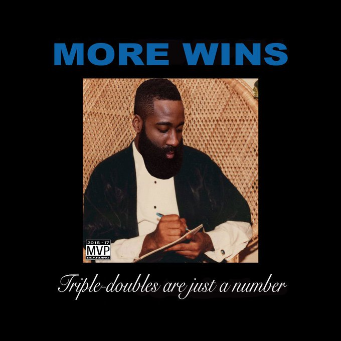 An #MVP performance by @JHarden13 today.