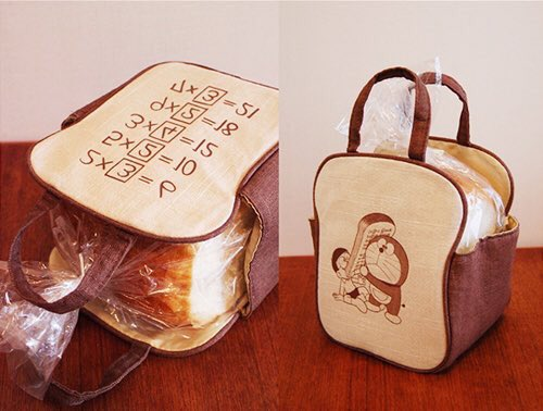 """【全国郵便局にて発売】これに入れれば普通の食パンも""""アンキパン""""になっちゃう⁉️ドラえもんのひみつ道具が雑貨になって新登"""