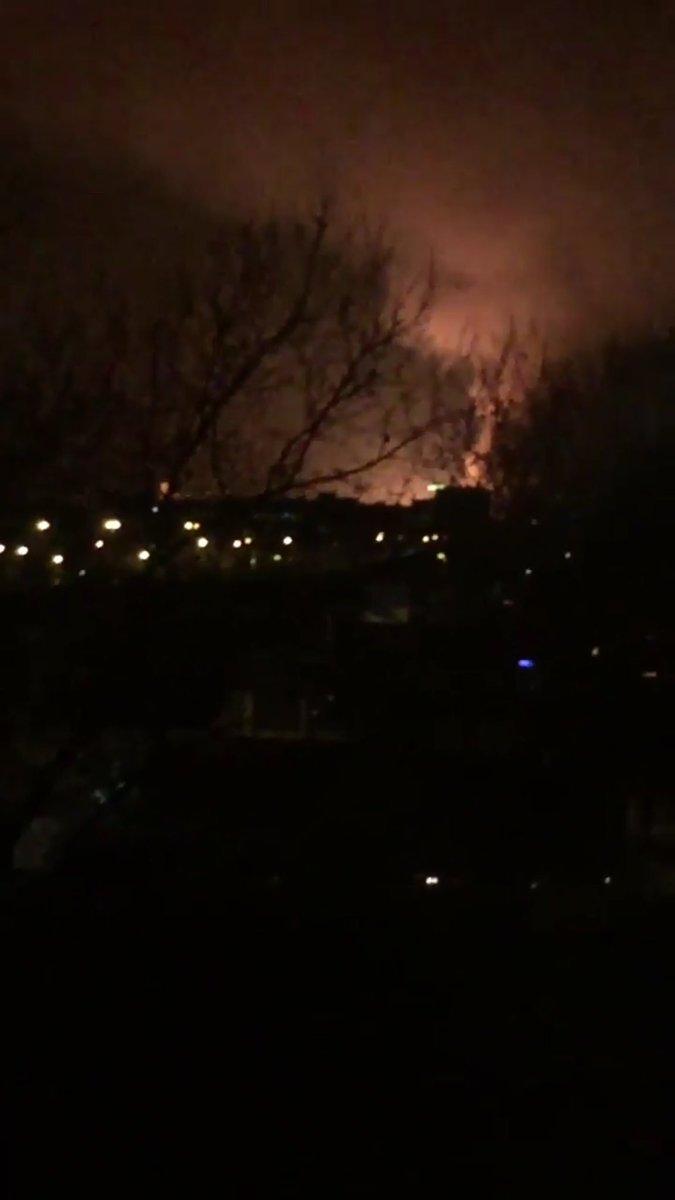 Fortes explosions entendues et relayés sur twitter a proximité de #Bondy via @c0njur1ng