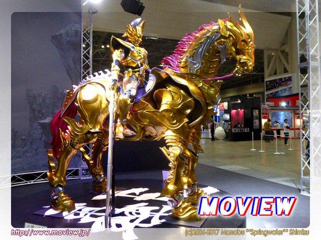 """黄金騎士ガロを乗せ、現実と魔界を往来する魔導馬""""轟天"""" #moview #garo AnimeJapan 2017に登場"""