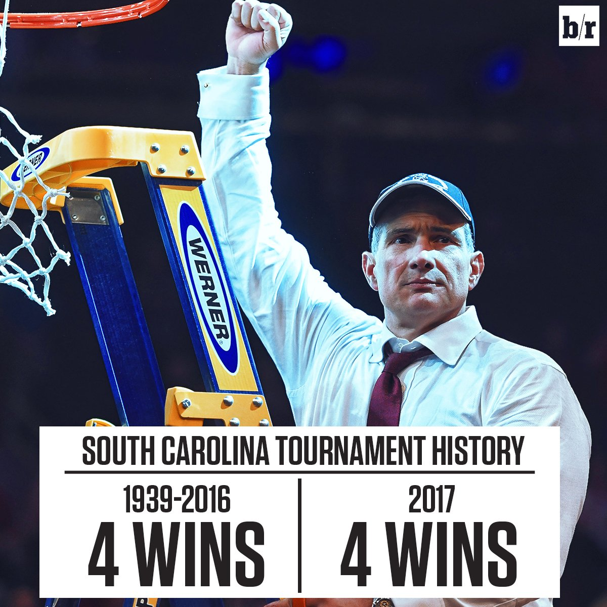 Frank Martin is taking South Carolina to new heights.