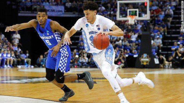 Final Four for NCAA men's basketball tournament is set: Gonzaga, Oregon, South Carolina and North Carolina advance. https://t.co/ggDDRHnDwK