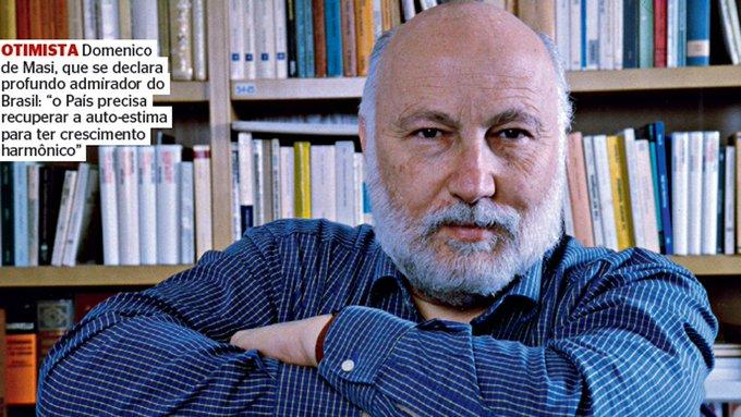Domenico de Masi: 'A desorientação é o maior mal do nosso tempo'. https://t.co/Rl20kTIW64