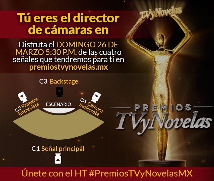 ENTREN aquí https://t.co/q7Gpx0IQ9o y DISFRUTEN las señales EXCLUSIVAS que tenemos para ustedes de los #PremiosTVyNovelasMX