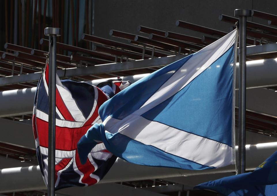 UK PM Theresa May will visit Scotland Monday, hoping to stem support for independence