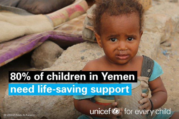 Relentless fighting & destruction for over 2 yrs in  has#Yemen left  str#ChildrenUnderAttackuggling to cope https://t.co/EgqLT1iPTH