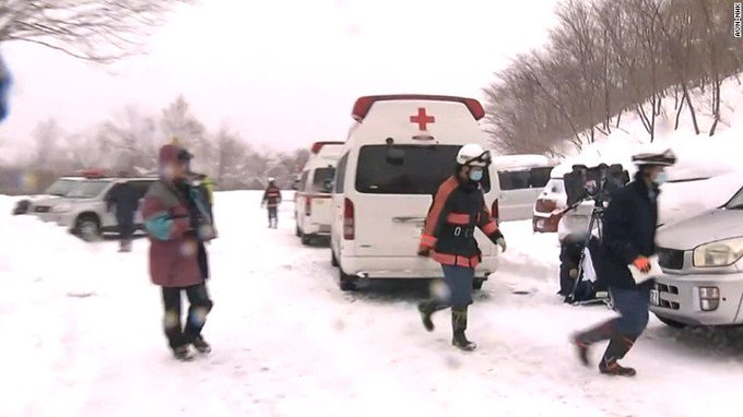 8 students are feared dead after being caught in an avalanche at a Japanese ski resort, a fire official says. https://t.co/leY1coFgnK