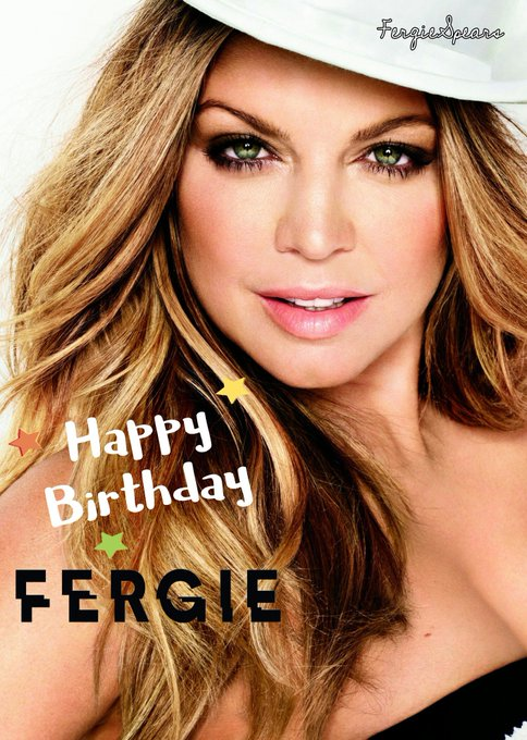 Happy BDay Fergie